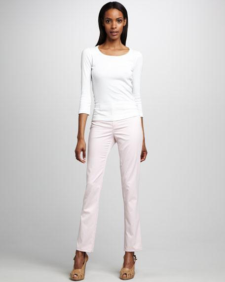 Jean Straight-Leg Jeans
