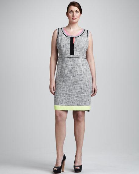 Jessie Neon-Trim Dress, Women's