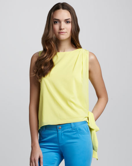 Ginny Side-Tie Blouse