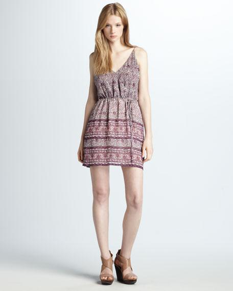Helene Floral-Print Dress