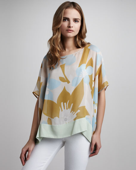 New Hanky Printed Top