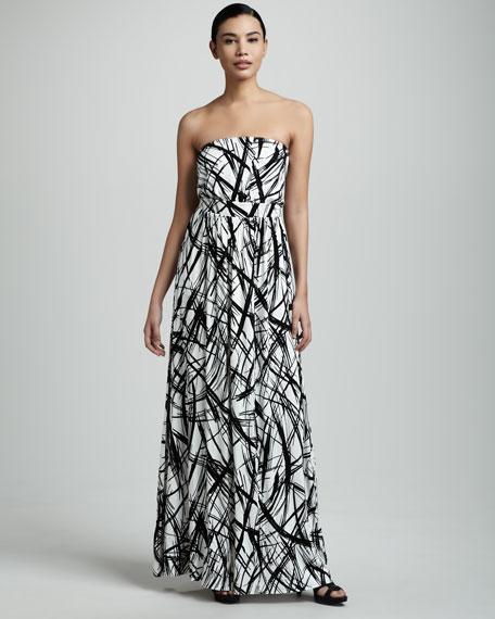 Talmadge Strapless Maxi Dress