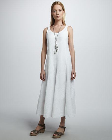 Linen Maxi Dress, Petite