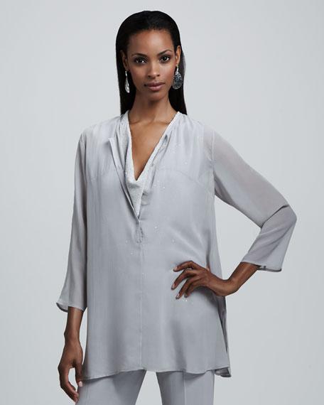 Sheer Silk Tunic