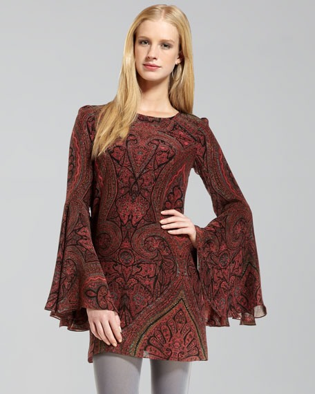 Mabel Paisley Dress