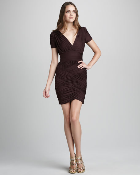 Jersey Crisscross Dress