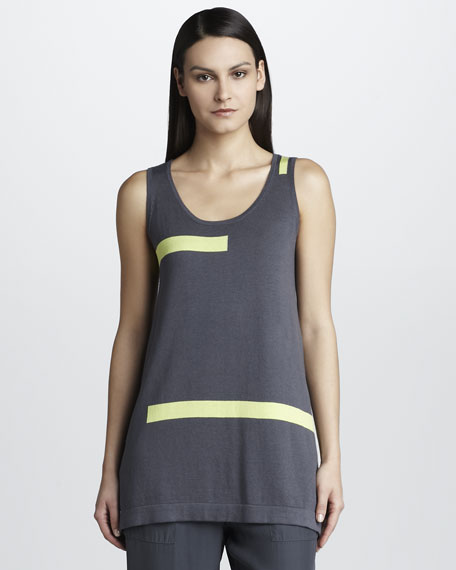 Knit Tank with Striping