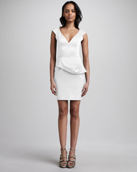Dame V-Neck Dress