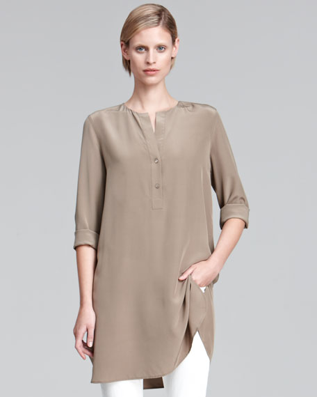 Long Silk Tunic