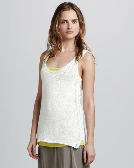Knit Tank, Ivory