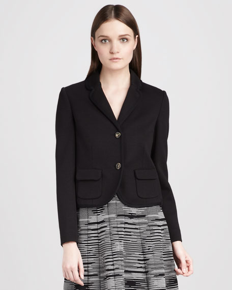 Double-Knit Blazer