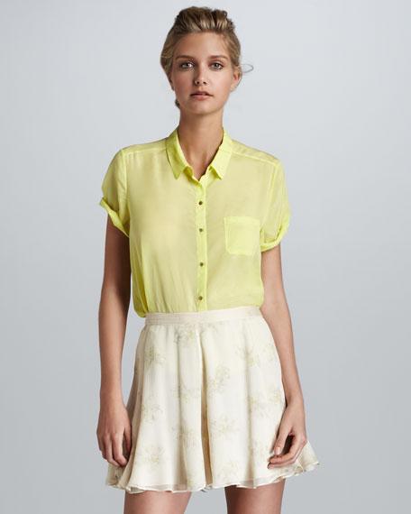 Katia Floral-Print Skirt