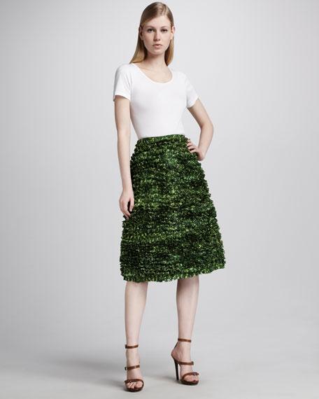 Taffeta Shrub Skirt, Garden