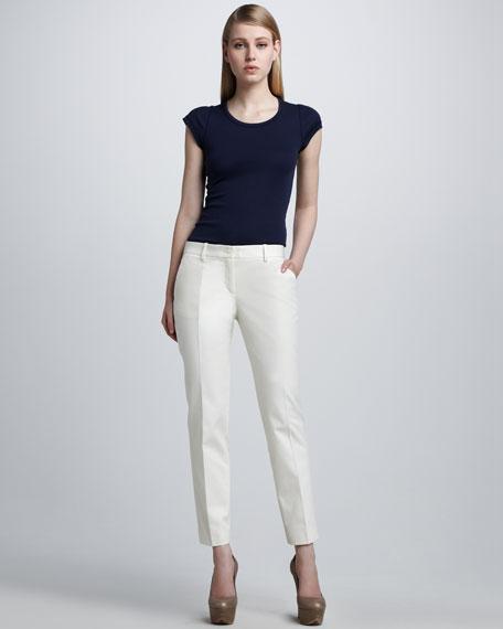 Cotton Gabardine Pants