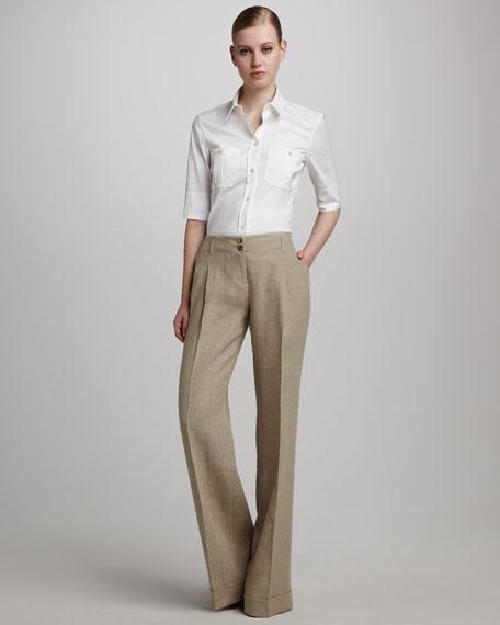 Linen Gauze Trousers