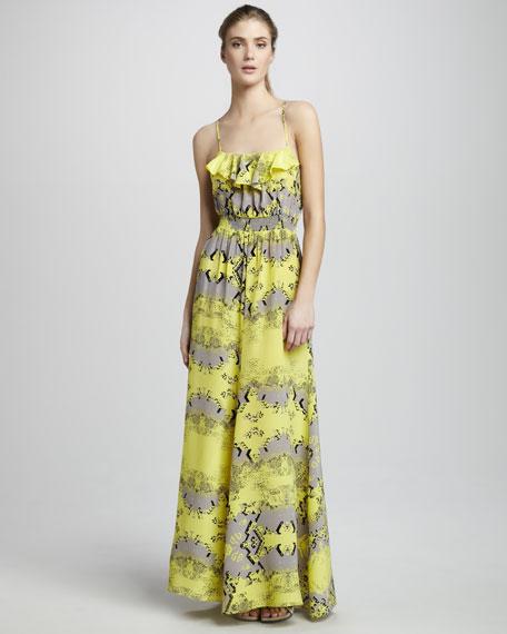 Duke Ruffled Maxi Dress