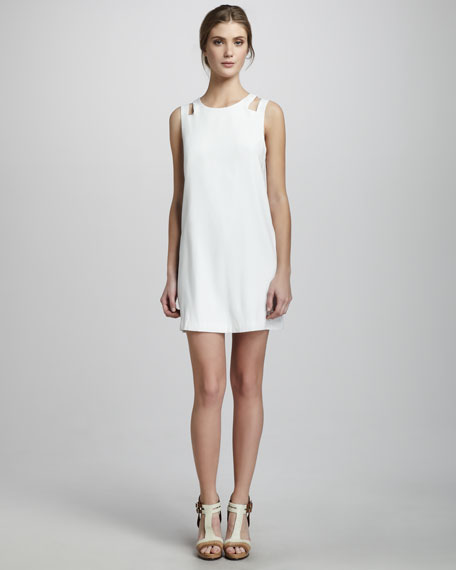 Randall Cutout-Shoulder Dress