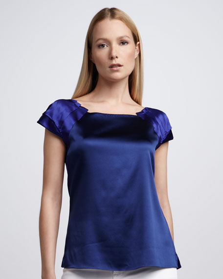 Keelie Silk Blouse