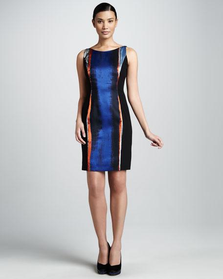Margie Print Dress