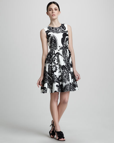 alanis printed dress