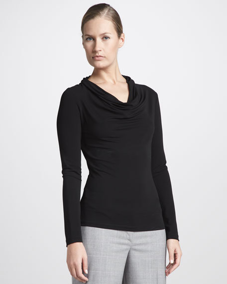 Long-Sleeve Jersey Top