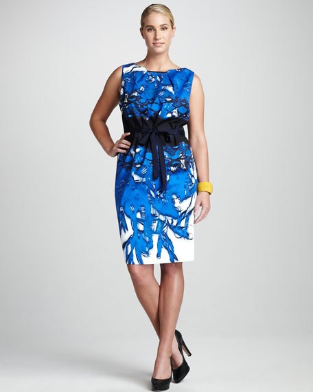 Adora Printed Dress