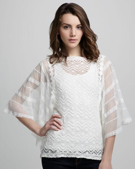 Flower Child Crochet Tunic
