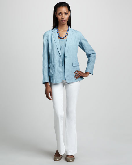 Eileen Fisher Wide-Leg Jeans, Women's