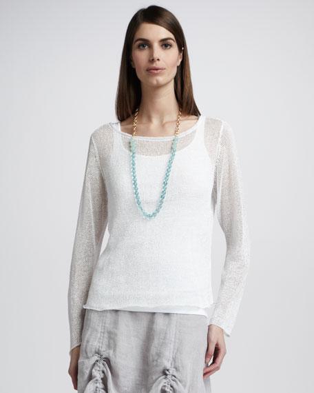 Sheer Knit Top