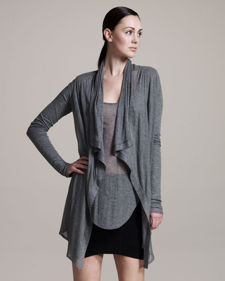 Voltage Draped Cardigan