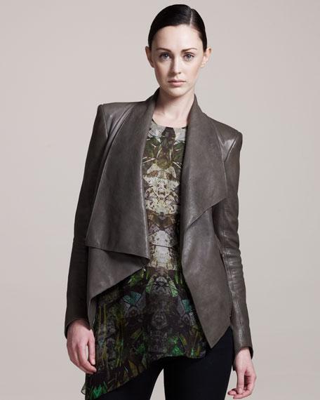 Supple Leather Jacket