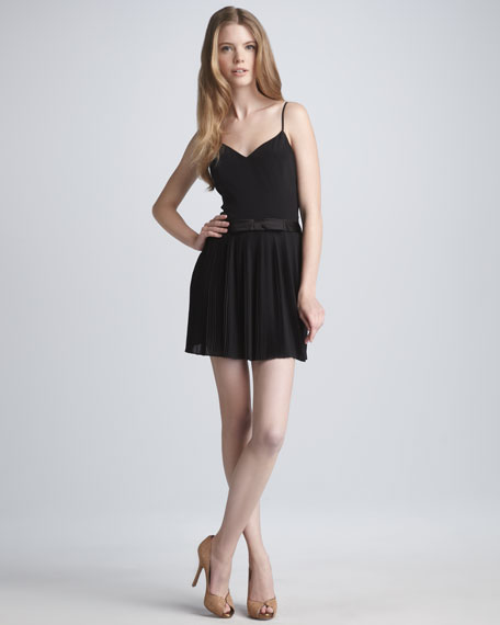Bow-Waist Camisole Dress