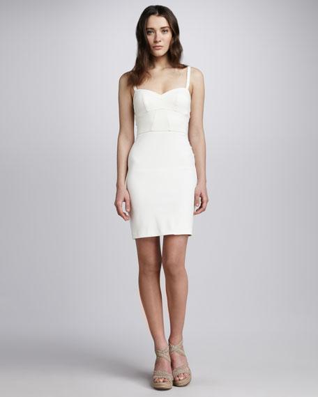 Corset-Bodice Sheath Dress