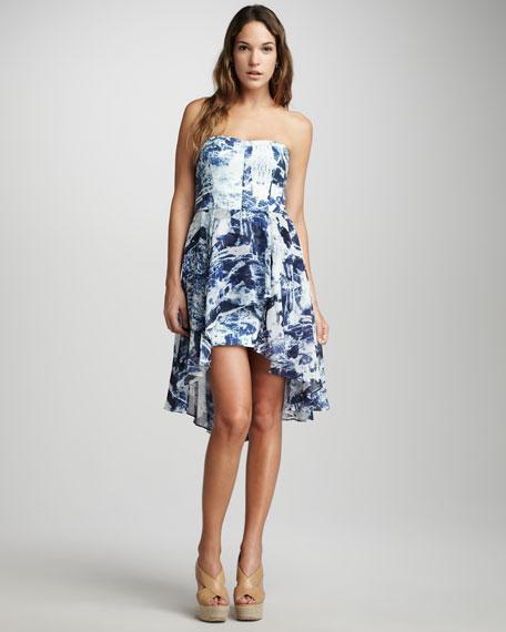 Woodblock Wonder Printed Dress