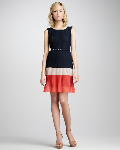 Shelby Pleated Dress