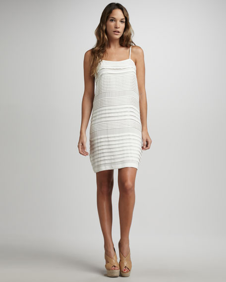 Sonny B Pintuck Slip Dress