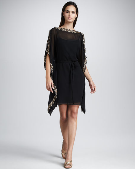 Caftan Cocktail Dress, Women's