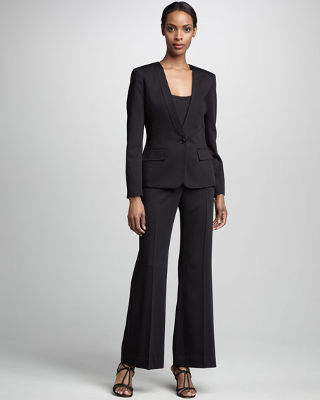 One-Button Pantsuit