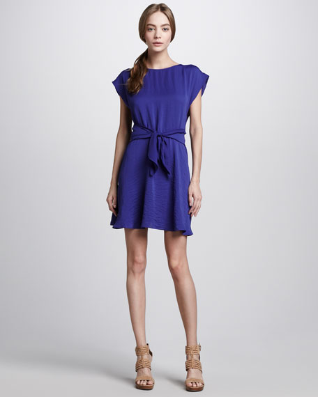 Knot-Waist Dress
