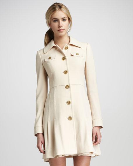 Eliza Pleated Coat