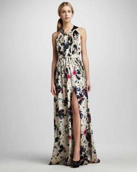 Natasha Printed Gown