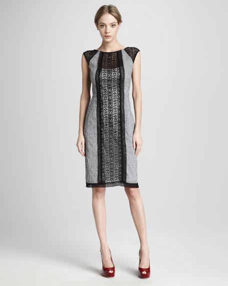 El Dorado Lace-Panel Dress