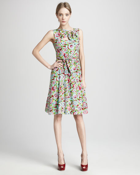 Sunkissed Floral-Print Dress