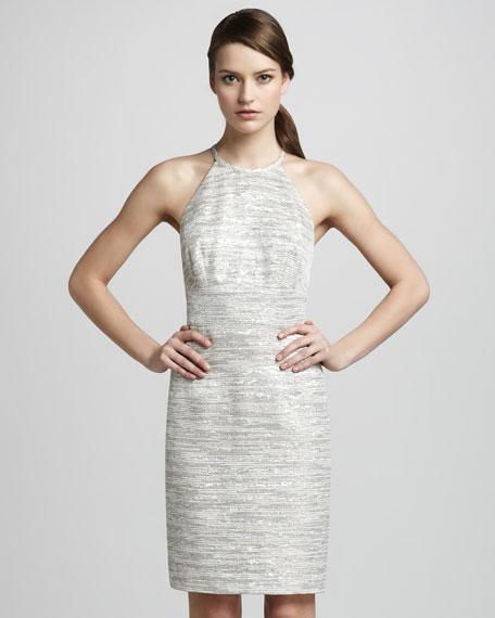 Metallic Melange Dress