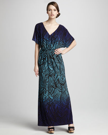 Yamika Printed Maxi Dress