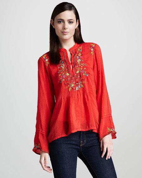 Tali Embroidered Tunic