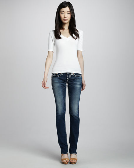 Billy Pioneer Super T Straight-Leg Jeans