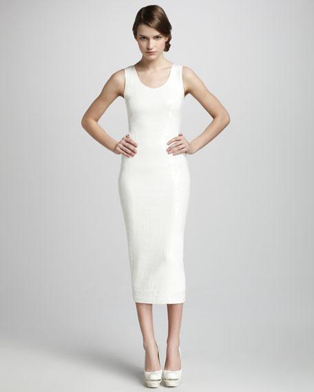 Slim Sequined Dress