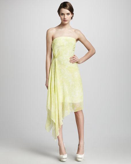 Chiffon Handkerchief Dress