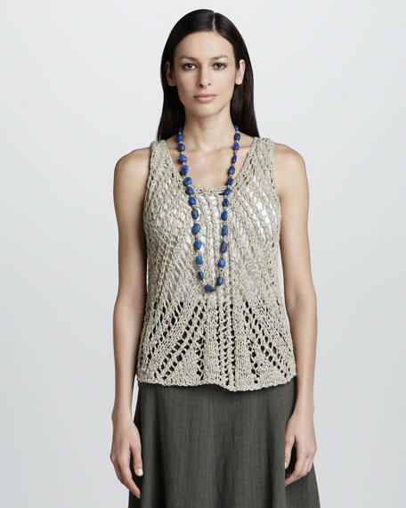 Knit Linen Tank
